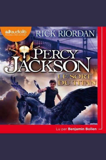 Percy Jackson 3 - Le Sort du Titan - cover