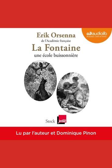 La Fontaine une école buissonnière - cover