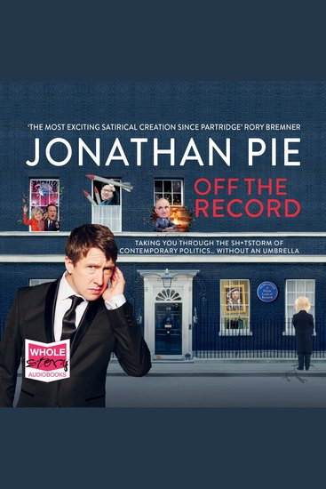 Jonathan Pie - Off the Record - cover