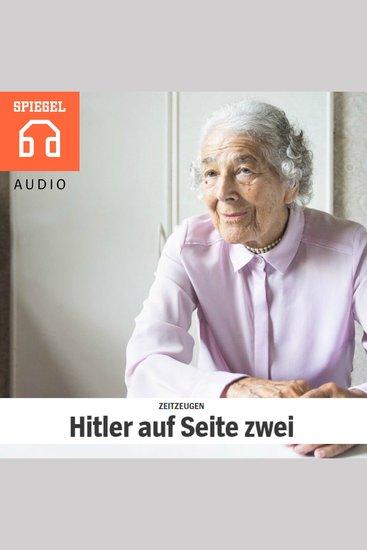 ZEITZEUGEN - Hitler auf Seite zwei - Mit über 90 Jahren hat Judith Kerr nun ein neues Buch verfasst Ein Besuch in London - cover