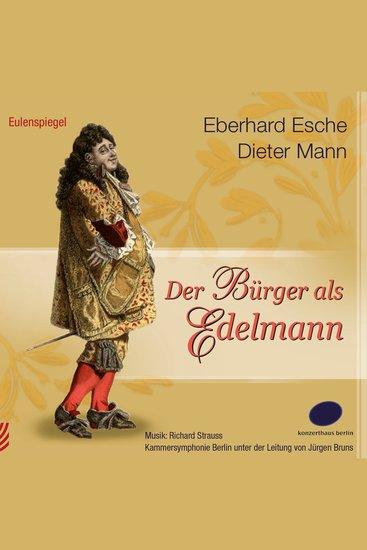 Der Bürger als Edelmann - cover