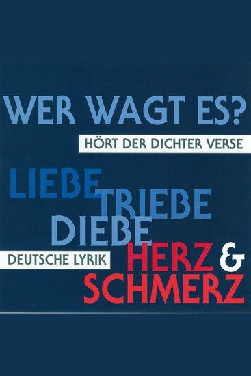 Deutsche Lyrik - Hört der Dichter Verse - cover