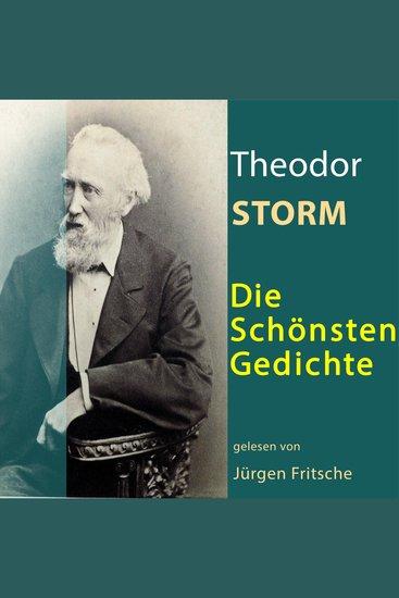 Theodor Storm: Die schönsten Gedichte - cover