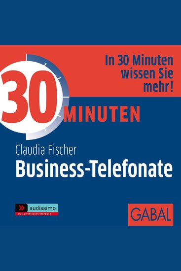 30 Minuten Business-Telefonate - cover