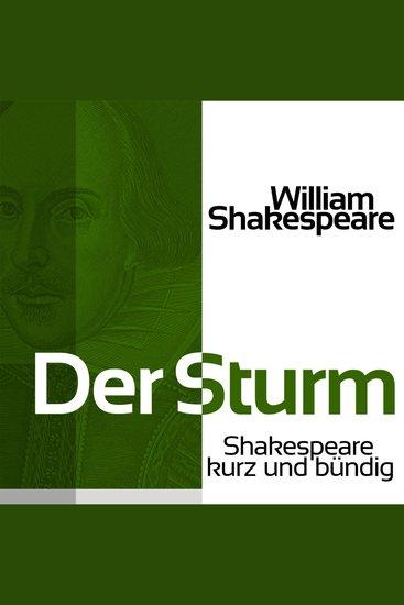 Der Sturm - Shakespeare kurz und bündig - cover