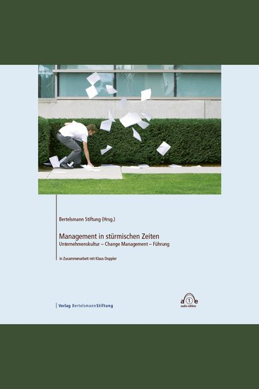 Management in stürmischen Zeiten - Unternehmenskultur - Change Management - Führung - cover