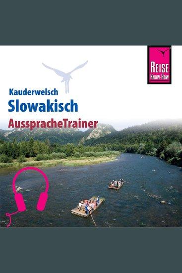 Reise Know-How Kauderwelsch AusspracheTrainer Slowakisch - cover