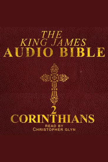 8) 2 Corinthians (Pauline Epistle) - cover