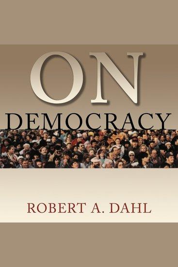 On Democracy - cover