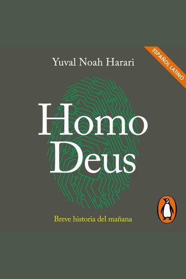Homo Deus - Breve historia del mañana - cover