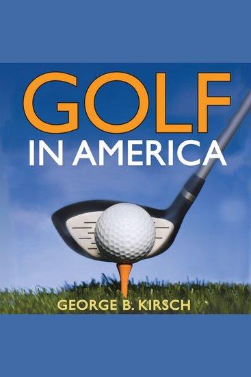 Golf in America - cover