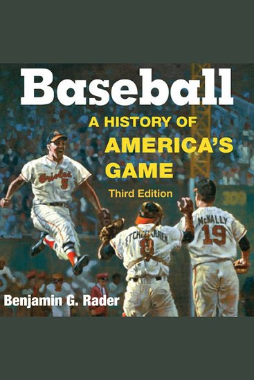 Baseball - A History of America's Game - cover