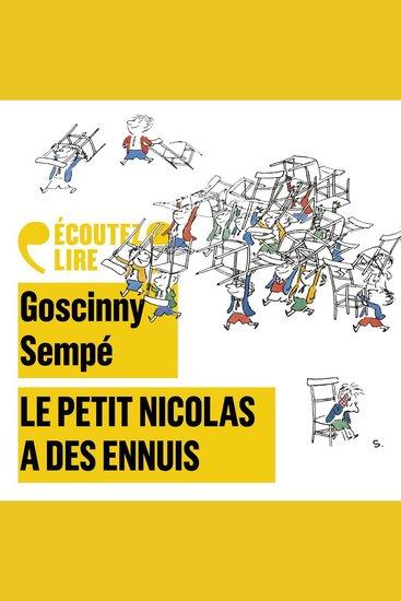 Le Petit Nicolas a des ennuis - cover