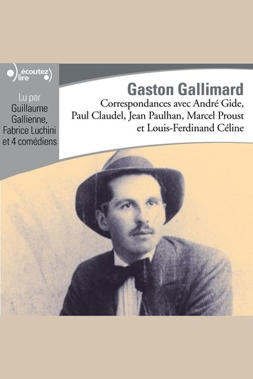 Correspondances avec Gaston Gallimard - cover