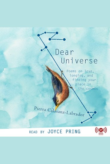 Dear Universe - Poems on Love Longing and Finding Your Place in the Cosmos - cover