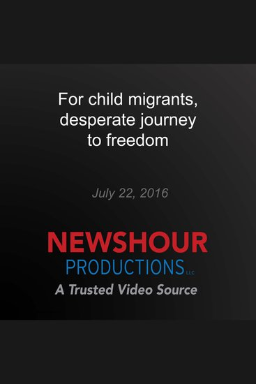 For child migrants desperate journey to freedom - Desperate Journey - cover