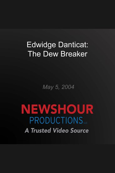 Edwidge Danticat: The Dew Breaker - cover