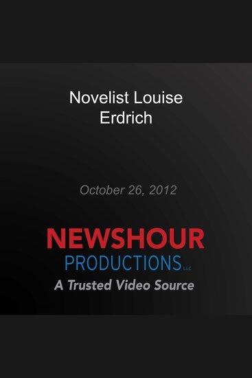 Novelist Louise Erdrich - cover