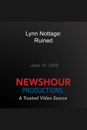 Lynn Nottage: Ruined - cover