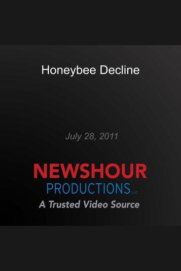 Honeybee Decline - cover
