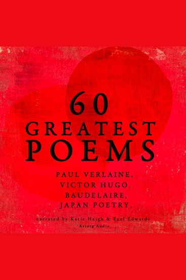 60 greatest poems - cover