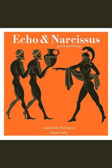 Echo and Narcissus - Greek Mythology - cover
