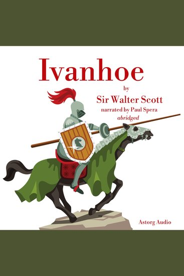 Ivanhoé by Walter Scott - cover
