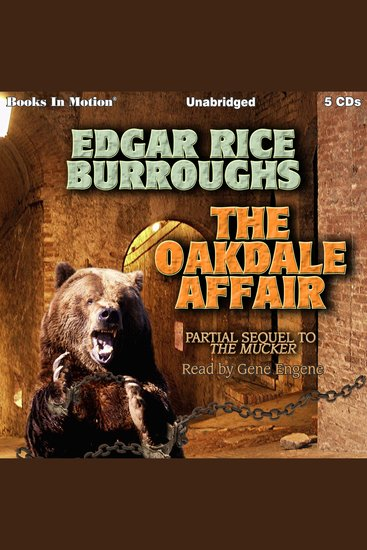 The Oakdale Affair - cover