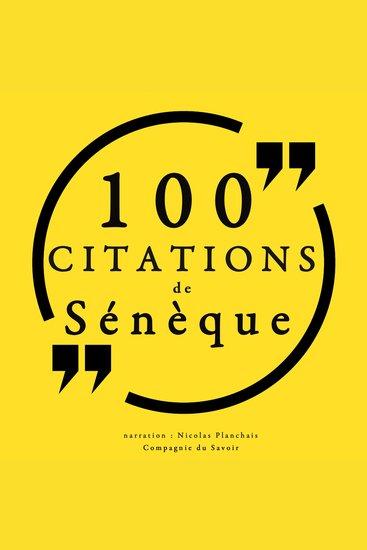 100 citations de Sénèque - cover