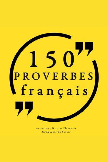 150 Proverbes français - cover