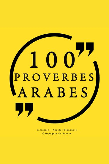 100 Proverbes Arabes - cover