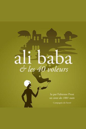 Alibaba et les 40 voleurs un conte des 1001 nuits - cover