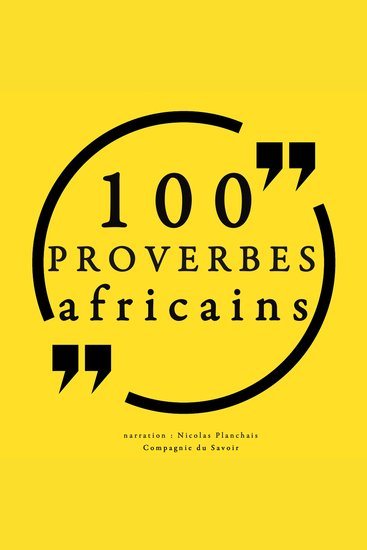 100 proverbes africains - cover