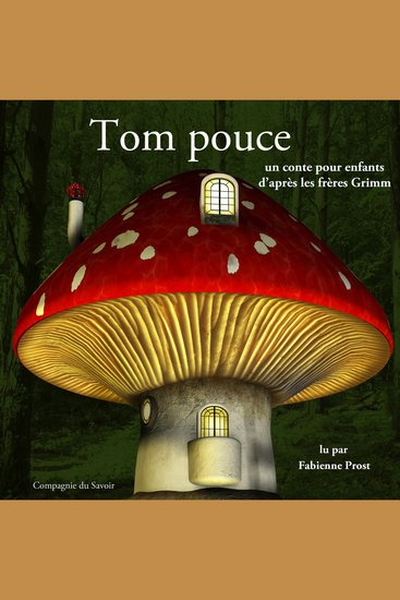 Tom Pouce des frères Grimm - cover