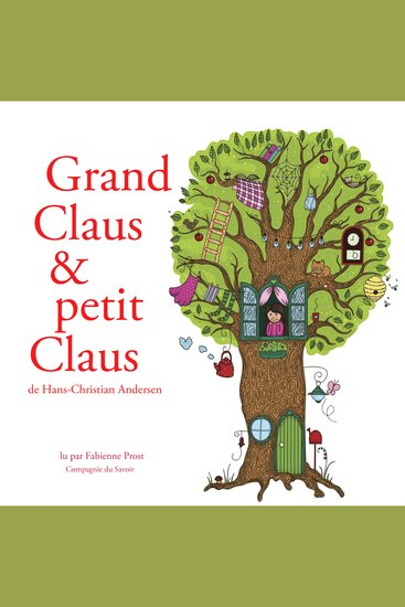 Grand Claus et petit Claus de Hans-Christian Andersen - cover