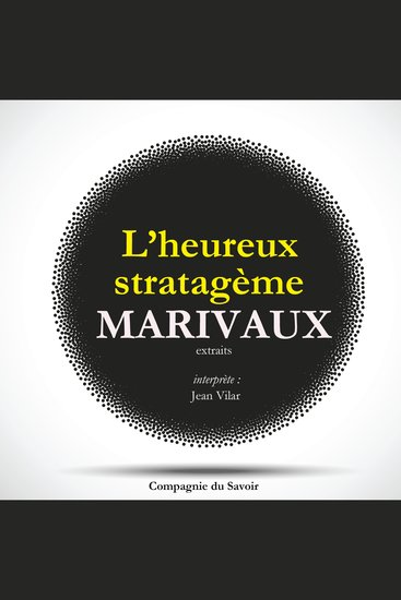 L'Heureux Stratagème de Marivaux - cover