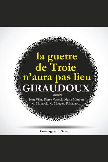 La Guerre de Troie n'aura pas lieu de Jean Giraudoux - cover