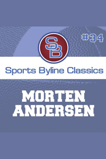 Sports Byline: Morten Anderson - cover