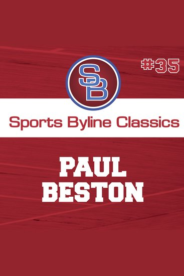 Sports Byline: Paul Beston - cover