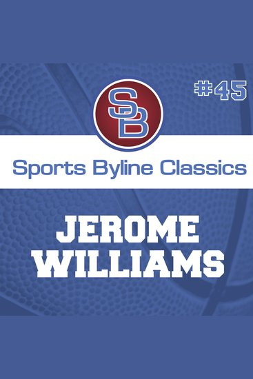 Sports Byline: Jerome Williams - cover