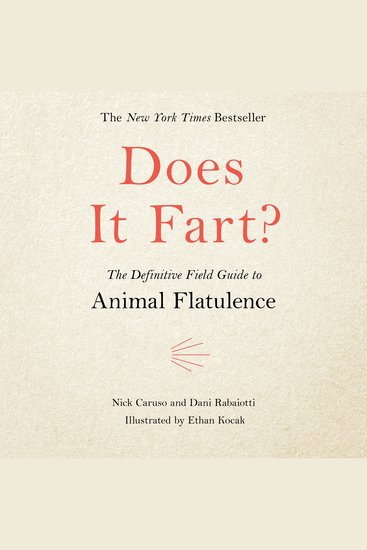 Does It Fart? - The Definitive Field Guide to Animal Flatulence - cover
