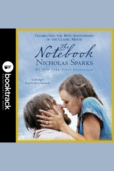 The Notebook - Booktrack Edition - cover