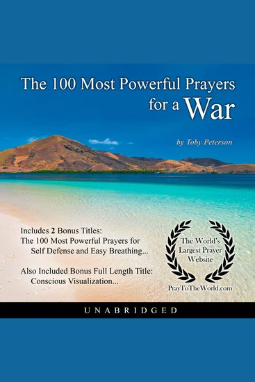The 100 Most Powerful Prayers for a War - cover