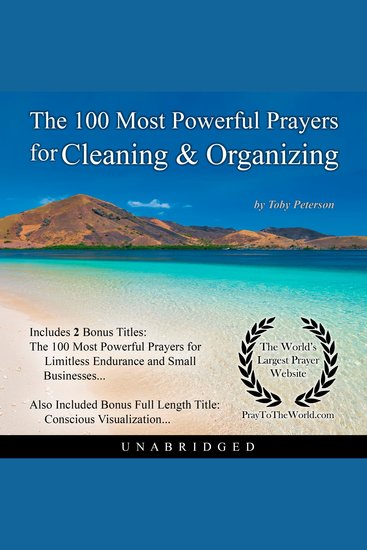 The 100 Most Powerful Prayers for Cleaning & Organizing - cover