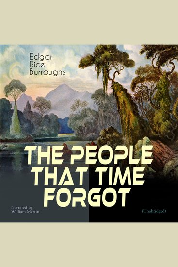 The People That Time Forgot - Unabridged - cover
