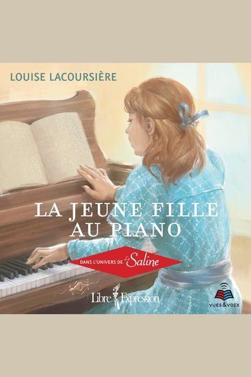 La jeune fille au piano: dans l'univers de La Saline - cover