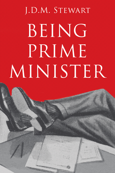 Being Prime Minister - cover
