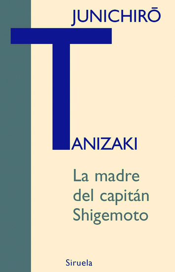 La madre del capitán Shigemoto - cover