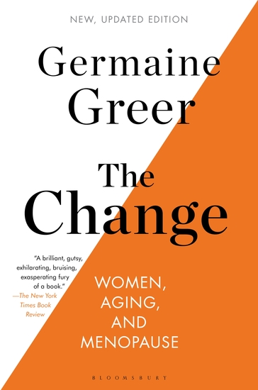 The Change - Women Aging and Menopause - cover