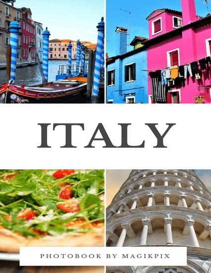 Italy Photobook - cover